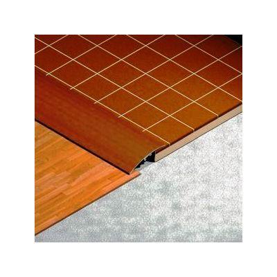Trecere Lineco din aluminiu sublicromat 40 mm culoare cires salbatic - PLS409. 142
